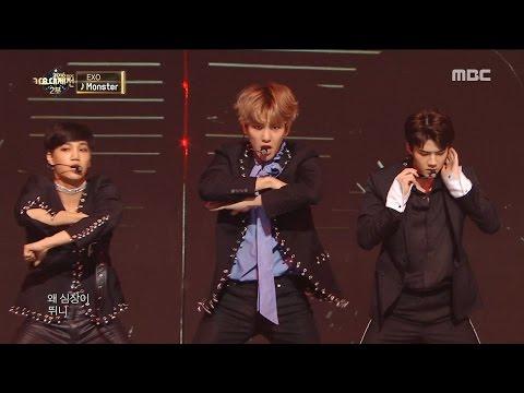 2016 MBC 가요대제전  대미를 장식하는 강렬한 특급 무대! EXO의 Louder + Monster 20161231
