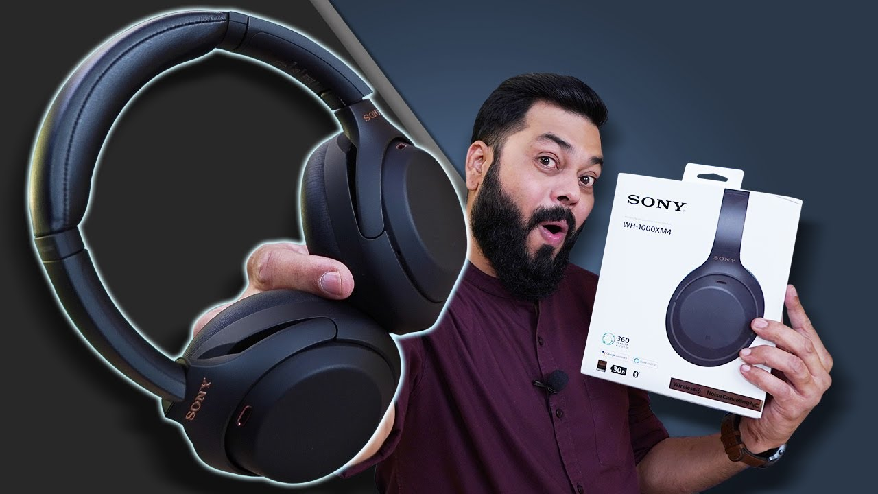 Download Sony WH-1000XM4 ANC Headphones Unboxing And First Impressions ⚡⚡⚡ THE BEST HEADPHONES BUT...🎧🎧