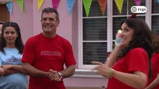 Ramona recibió tortazos en la Gymkana de la quinta