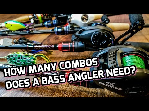 5 Rod And Reel Setups To HELP Bass Anglers! (Don't Overlook These! - 2018)
