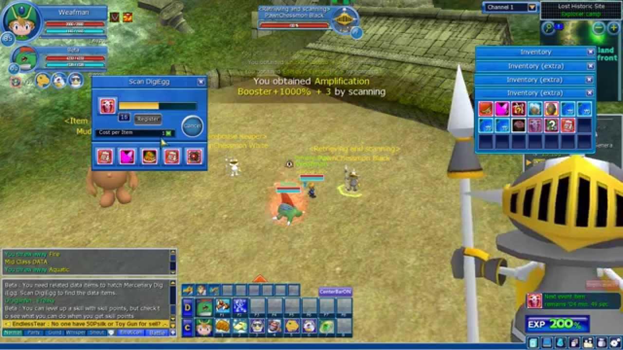 Digimon masters scanning 50 easter egg boxes youtube negle Images