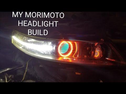 MY MORIMOTO LIGHTS ACURA TL HEADLIGHT BUILD