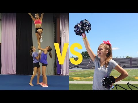 All Star Cheer VS School Cheer (QUIZ) | TheCheernastics2