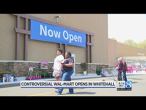 Controversial Wal-Mart Opens In Whitehall