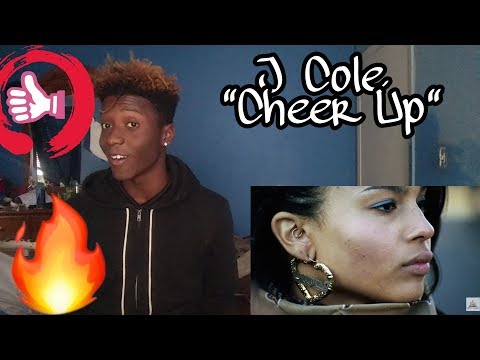 J Cole - Cheer Up Reaction