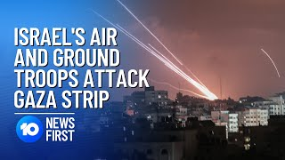 Israel Launches Military Offensive On Gaza. I 10 News First
