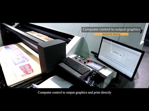 WD250-8A  introduction video corrugated carton digital printer from Shenzhen Wonder