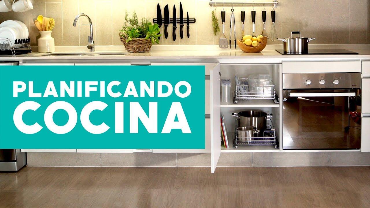 Cómo planificar la cocina? - YouTube