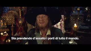 Pirati dei Caraibi - Oltre i confini del mare - Geoffrey Rush presenta la storia
