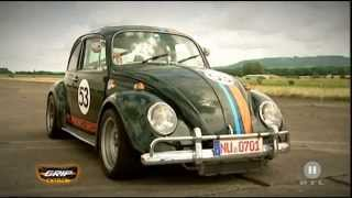"VW Herbie VS De Tomaso Pantera from RTL2 ""Grip - Das Motormagazin"""