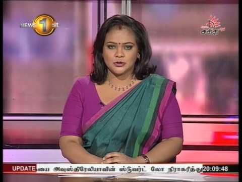 News 1st Prime time 8PM  Shakthi TV 05th May 2016