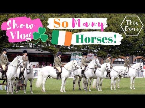 Dublin Horse Show 2019 - show vlog | AD | This Esme