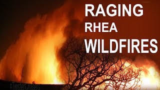 Wildfires in Oklahoma Burned 350,000 Acres - 2018 Rhea Wildfire