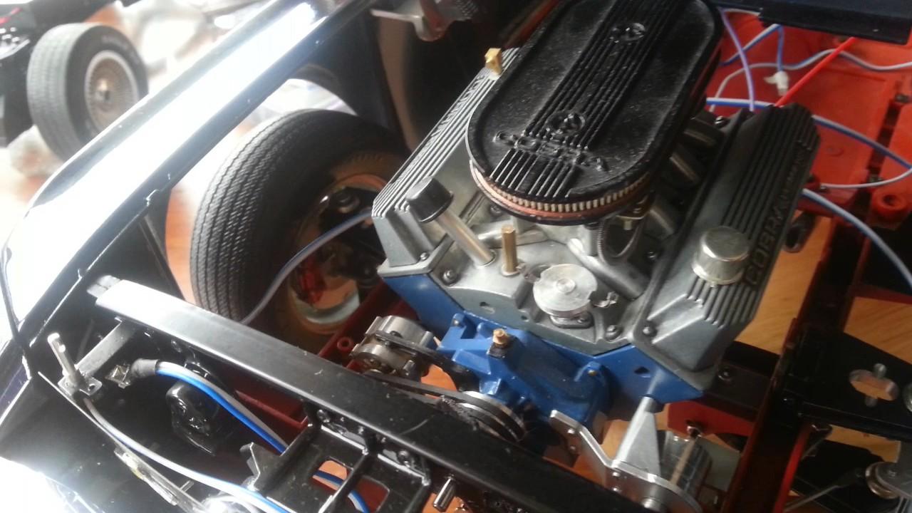 Ford mustang gt500 deagostini altaya 1 8 update
