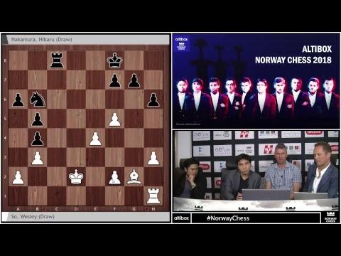 Altibox Norway Chess 2018 Round 3