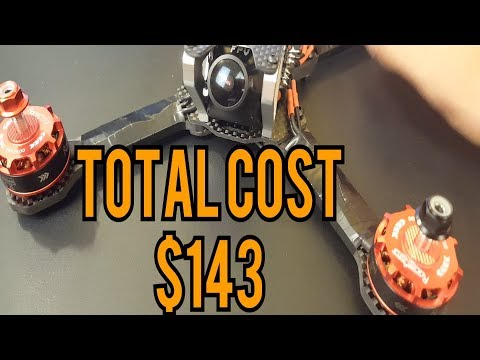 How to Build a budget Racing Drone // Frog Lite, Racerstar StarF4S, Racerstar 2306
