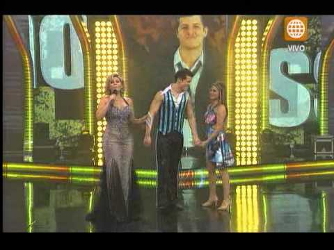 El Gran Show: Gino Pesaressi fue elogiado por el jurado por su impecable baile