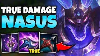 Q HITS FOR TRUE DAMAGE?! 100% ARMOR PEN NASUS IS A LEGIT ASSASSIN! - League of Legends