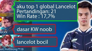 Prank Nyamar Jadi Top 1 Lancelot, Oura - Mobile Legends