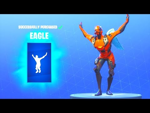 NEW! EAGLE EMOTE!! Fortnite Battle Royale