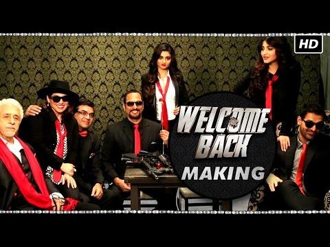 Making of Welcome Back   Anil Kapoor, Nana Patekar & John Abraham