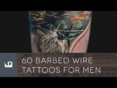 60 Barbed Wire Tattoos For Men