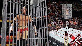 JAMES ELLSWORTH IN SHARK CAGE! (WWE 2K18 Carmella vs Asuka Extreme Rules 2018 SD Live Women