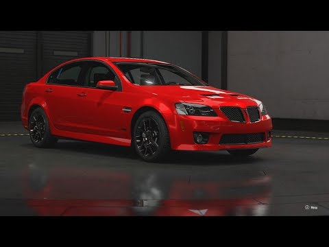 Forza Motorsport 7 | 2009 Pontiac G8 GXP | In Depth Forzavista + Race