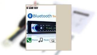 Autoradio Car Radio 12V Bluetooth V2.0 JSD520 Car Stereo In-dash 1 Din FM Aux Input Receiver SD USB