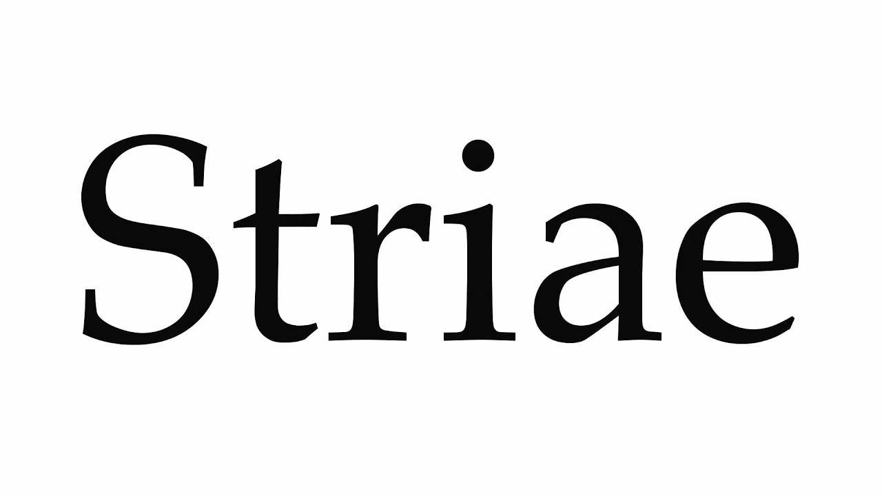 Download How to Pronounce Striae