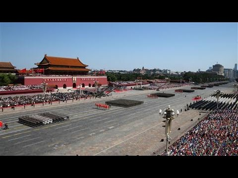 Watch China's Military Parade in 60 Seconds