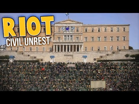 The Most Dangerous Riot Yet! - Keratea Riots - Riot: Civil Unrest Gameplay