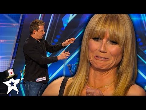 Ghost!? Mike Super Terrifies Heidi Klum on Stage! | Magician's Got Talent