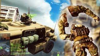 Скачать Летающие машины и ОЧЕНЬ страшные баги в Battlefield 4