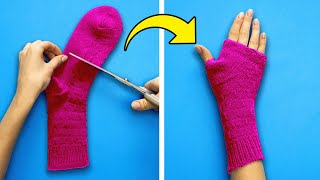 23 CRAFTS TO MAKE WITH OLD SOCKS