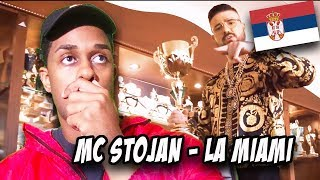 BALKAN MUSIC REACTION | MC STOJAN - LA MIAMI (OFFICIAL VIDEO) 4K