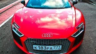 Audi RS6 против Audi R8 на треке! Тест драйв Ауди Р8  и Ауди РС6 Авант(Второй канал Click on Life https://www.youtube.com/channel/UCLfbZJWttpdHnvAAptTzIgg Хендай Крета против Рено Каптур ..., 2016-08-21T14:00:03.000Z)