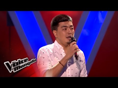 """Misheel.E - """"Faded"""" - Blind Audition - The Voice of Mongolia 2018"""