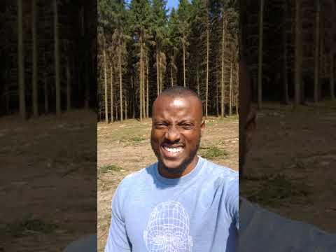Nigerian visiting Suceava, Romania