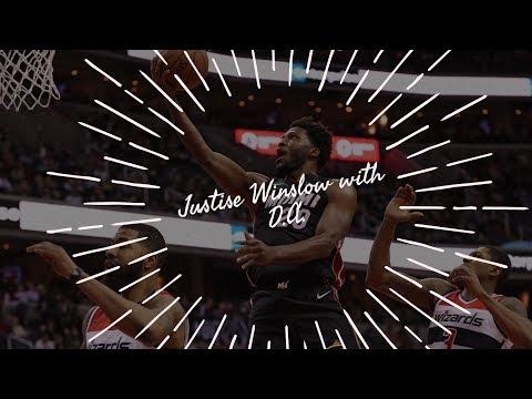 Miami Heat forward Justise Winslow