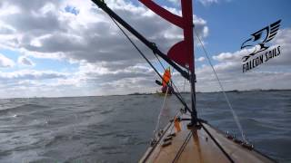 Kayak Sailing Maumee Bay Thumbnail