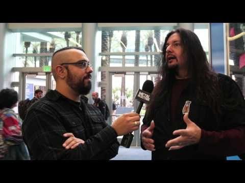 "GENE HOGLAN ""The Atomic Clock: The Clock Strikes Two"" DVD Interview at NAMM 2017 