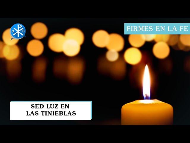 Sed luz en las tinieblas | Firmes en la fe - P Gabriel Zapata