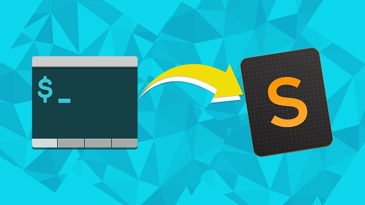 Abrir archivos y carpetas en Sublime Text desde la Terminal o Consola - MAC OSX