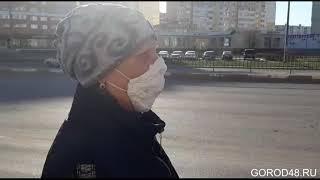 Жители Липецка поехали на автобусах в масках