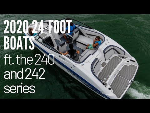 Yamaha's 2020 24-Foot Boats Featuring The 240 And 242 Series