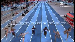 60m women final European Athletics Championships 2011, Paris