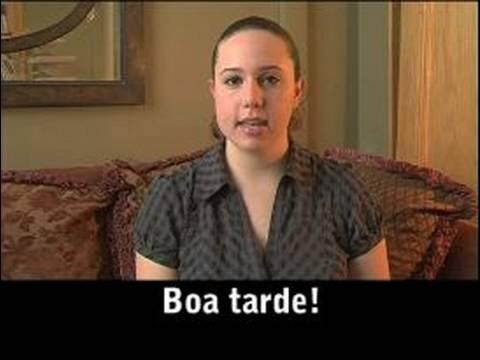 Common Portuguese Phrases Portuguese Common Greetings