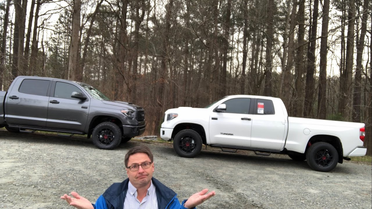Consider These 3 Factors Before Buying A Double Cab Vs Crewmax 2020 Toyota Tundra Trd Pro Torque News