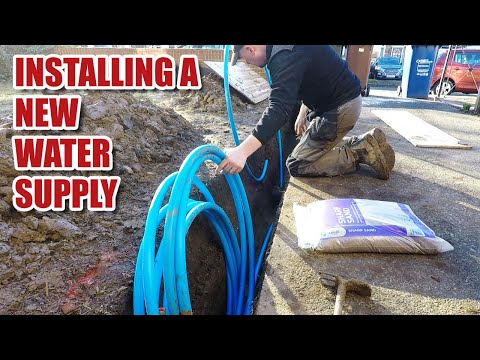 Low water pressure? Installing a new water supply in the UK